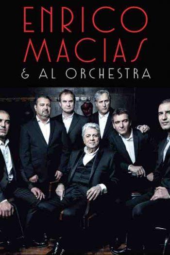 Enrico Macias affiche concert