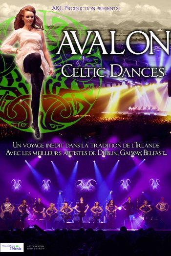 Avalon celtic affiche chaudronnerie