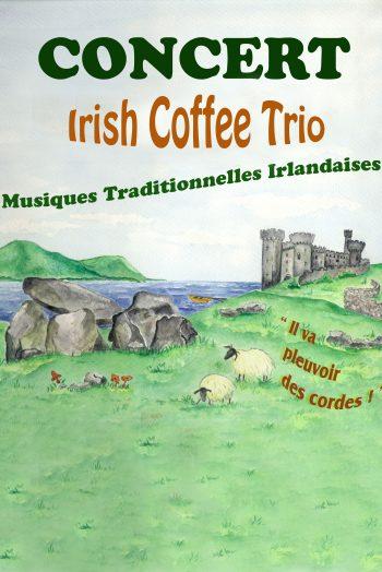 Irish coffee affiche chaudronnerie