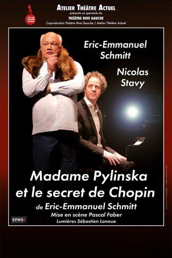 Madame Pylinska et le secret de chopin affiche chaudronnerie